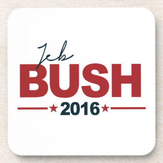 BUSH 2016 CAMPAIGN SIGN - png Beverage Coasters