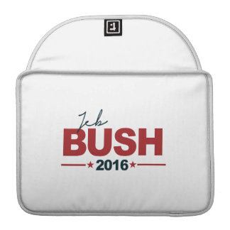 BUSH 2016 CAMPAIGN SIGN -.png Sleeve For MacBooks