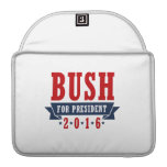 BUSH 2016 CERTIFIED RIBBON -.png Sleeve For MacBook Pro