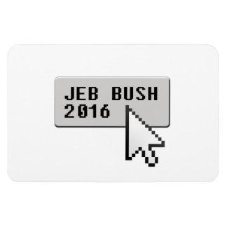 BUSH 2016 CURSOR CLICK -.png Rectangular Photo Magnet