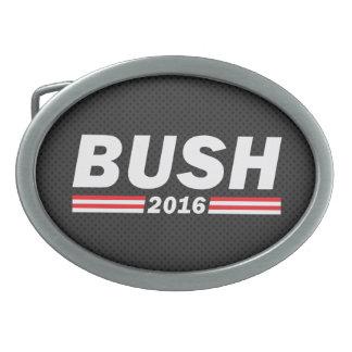 Bush 2016 (Jeb Bush) Oval Belt Buckle