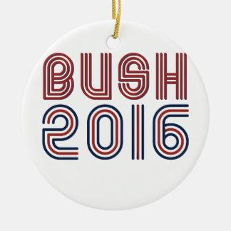 BUSH 2016 LINE RETRO -.png Christmas Ornament
