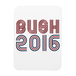 BUSH 2016 LINE RETRO -.png Rectangular Photo Magnet