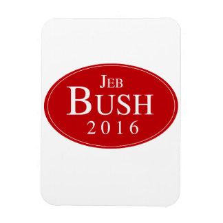 BUSH 2016 OVALESQUE -.png Rectangular Photo Magnet