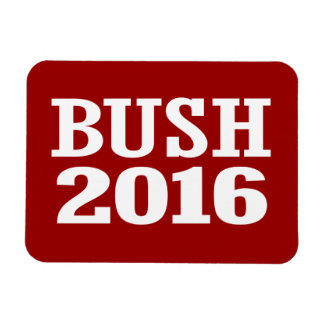 BUSH 2016 RECTANGULAR MAGNET
