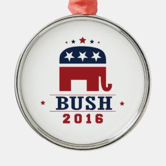 BUSH 2016 ROCKWELL -.png Christmas Tree Ornament