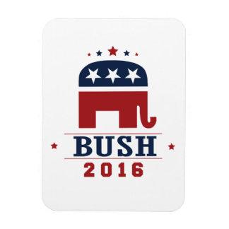 BUSH 2016 ROCKWELL -.png Rectangular Photo Magnet