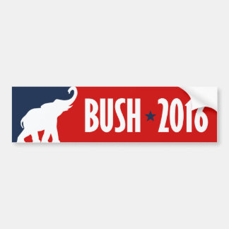 BUSH 2016 SPORTBUMPER -.png Bumper Sticker