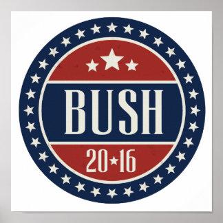 BUSH 2016 STARCIRCLE -.png Poster