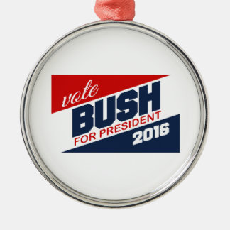 BUSH 2016 SUPPORTER -.png Christmas Ornaments