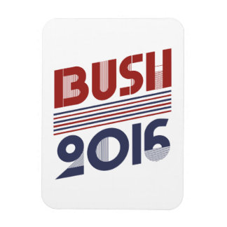 BUSH 2016 VINTAGE STYLE -.png Rectangular Photo Magnet