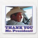 Bush-Agradecer-usted Alfombrilla De Ratones