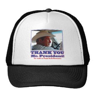 Bush-Agradecer-Usted-Americano Gorro De Camionero