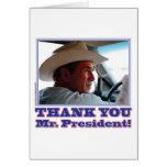 Bush-Agradecer-usted Felicitación