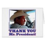 Bush-Agradecer-usted Felicitacion