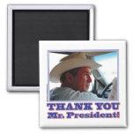 Bush-Agradecer-usted Imán Para Frigorífico