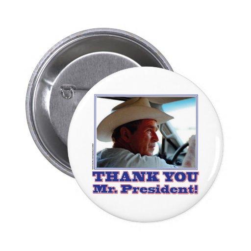 Bush-Agradecer-usted Pins
