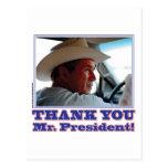 Bush-Agradecer-usted Postal