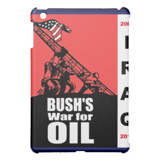 Bush Anti Iraq War Cartoon by Latuff iPad Mini Covers