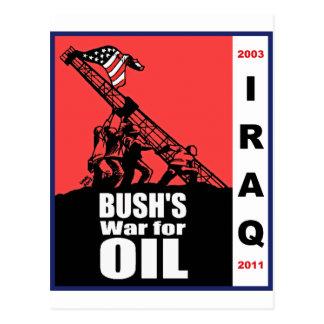 Bush Anti Iraq War Cartoon by Latuff Post Card