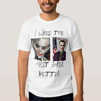 Bush/camisa del comodín de Obama Playera
