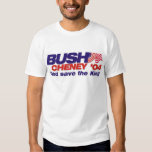 Bush/Cheney '04: God Save the King T-Shirt