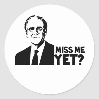Bush Classic Round Sticker
