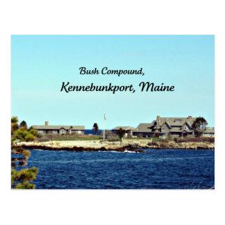 Bush Compound, Kennebunkport, Maine Postcard
