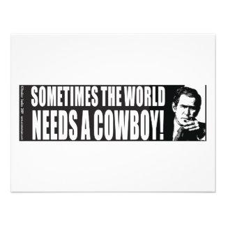 Bush Cowboy Announcement