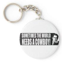 Bush Cowboy Keychain