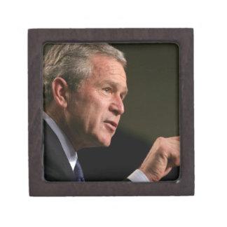 Bush deep in discussions premium keepsake boxes