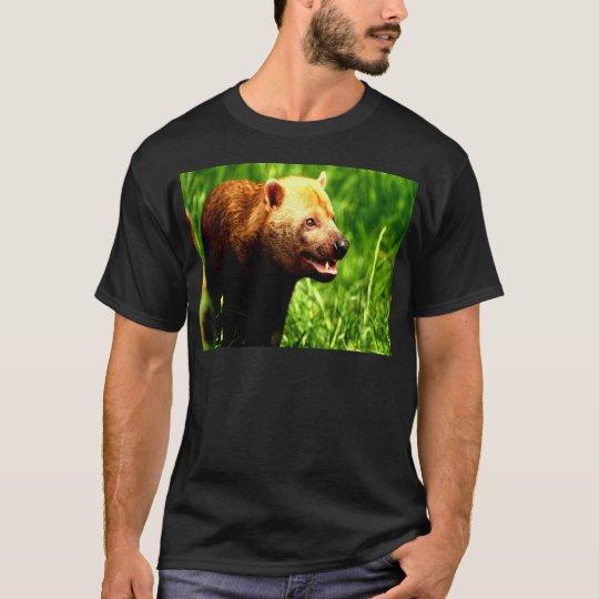 Bush Dog smiling with joy T-Shirt