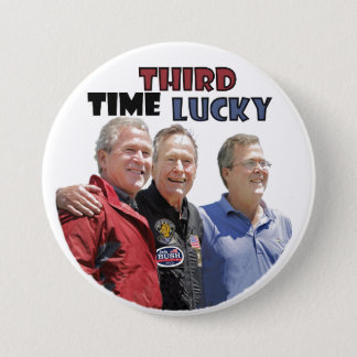 Bush Dynasty Button