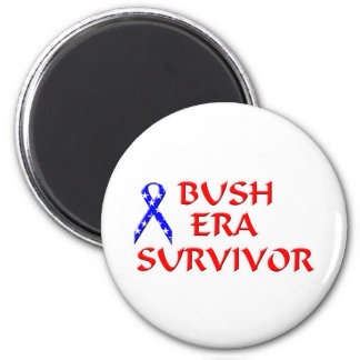 Bush Era Survivor Refrigerator Magnet