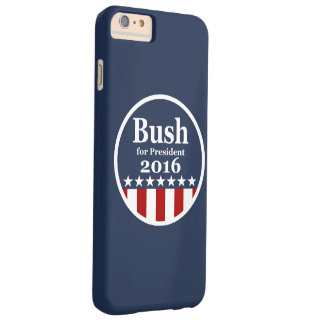 Bush for President 2016 Barely There iPhone 6 Plus Case