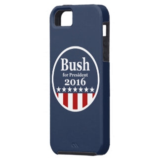 Bush for President 2016 iPhone 5 Cover
