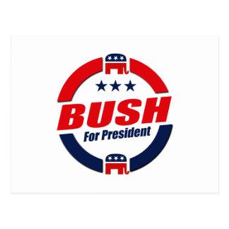 BUSH FOR PRESIDENT (Republican) Postcard