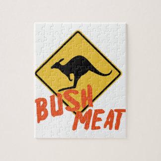 Bush Meat Jigsaw Puzzle
