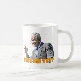 """Bush """"Miss Me Yet?"""" Coffee Mug"""