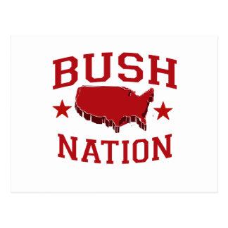 BUSH NATION POSTCARD