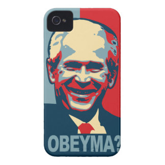 Bush Obeyma? iPhone 4 Case-Mate Case