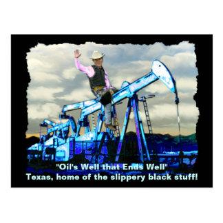 """""""BUSH OIL"""" Goerge W Bush Oil-well Postcards"""