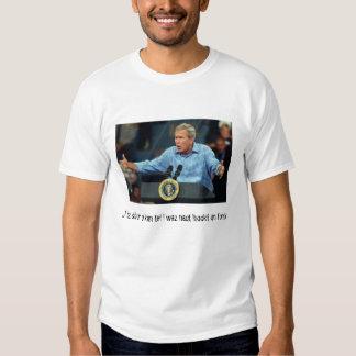 "Bush on ""fonix"" tee shirt"