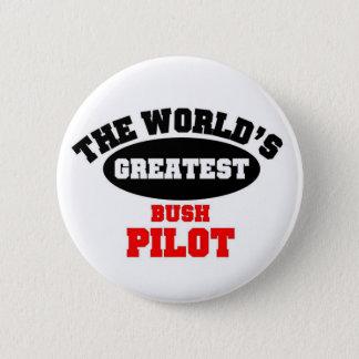 Bush Pilot Pinback Button