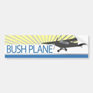 Bush Plane Car Bumper Sticker
