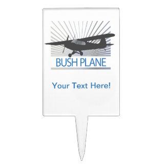 Bush Plane Cake Topper