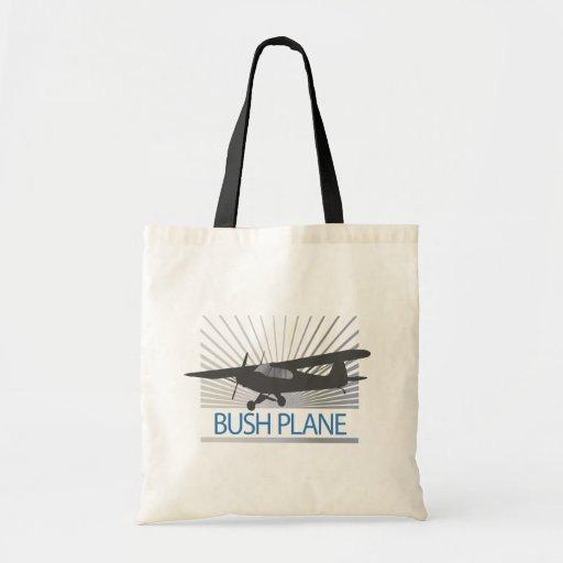 Bush Plane Canvas Bags