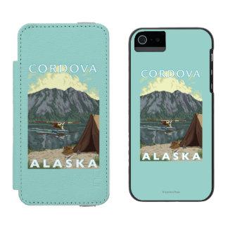 Bush Plane & Fishing - Cordova, Alaska iPhone SE/5/5s Wallet Case