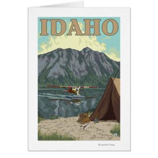 Bush Plane & Fishing - Idaho Card
