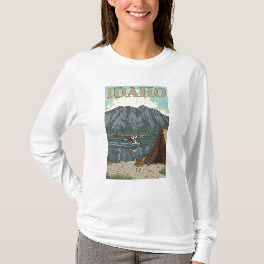 Bush Plane & Fishing - Idaho T-Shirt